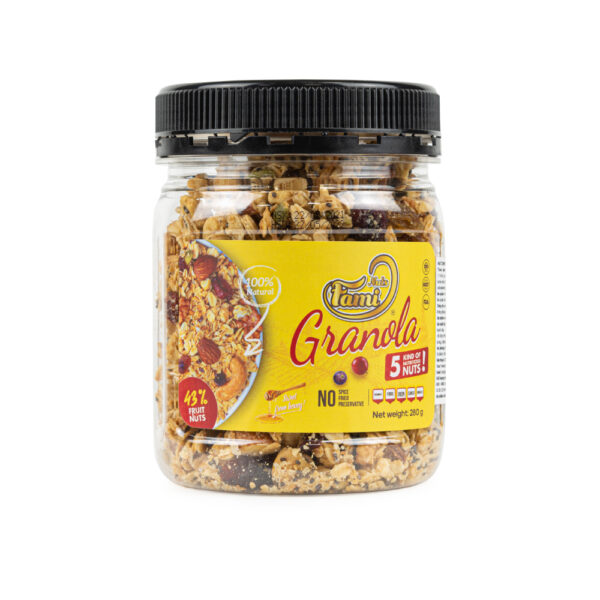 GRANOLA FAMINUTS NUTRITION