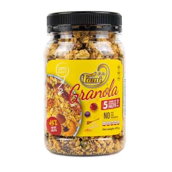 NUTRITIONAL SEEDS GRANOLA